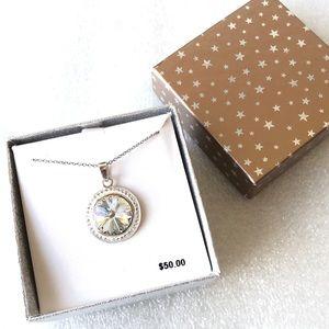 Delicate Days Crystal Pendant Necklace NIB